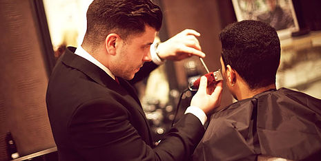 Precise haircut, style & trim by GROOMSMEN On-Site Haircuts Mobile Salon & Barbershop Co.